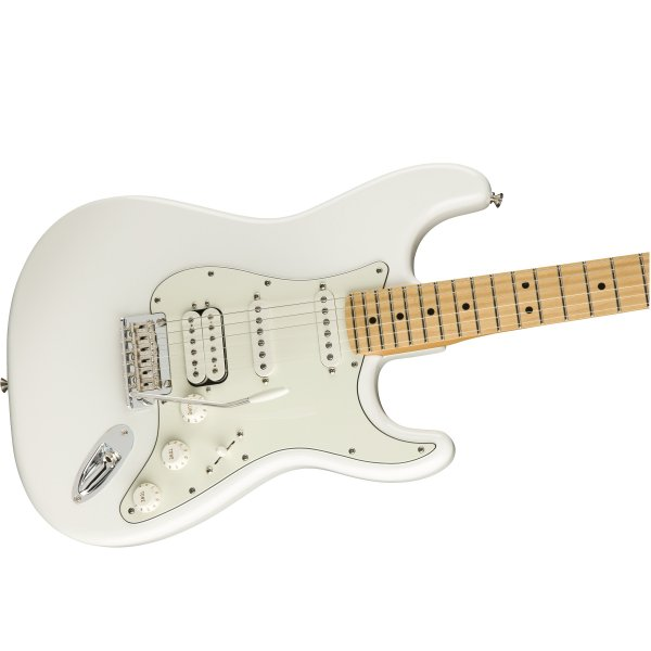 Player Stratocaster HSS Maple Fingerboard Electric Guitar - Polar White