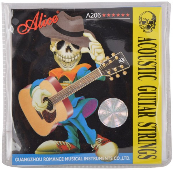 Alice Acoustic Guitar Strings A206-SL 011-052