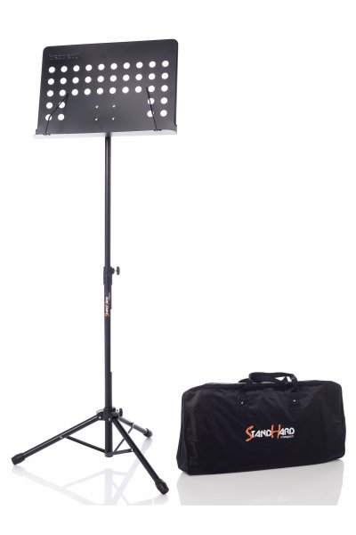 Bespeco SH200 Professional Black Steel Music Stand With Bag