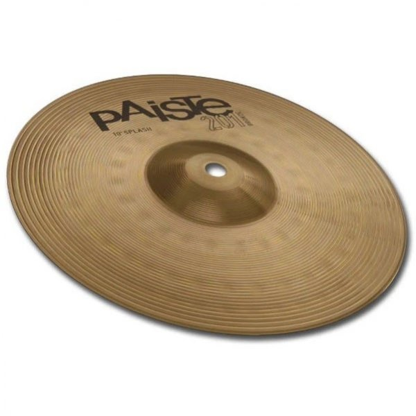 Buy Paiste 201 splash bronze hi hat online