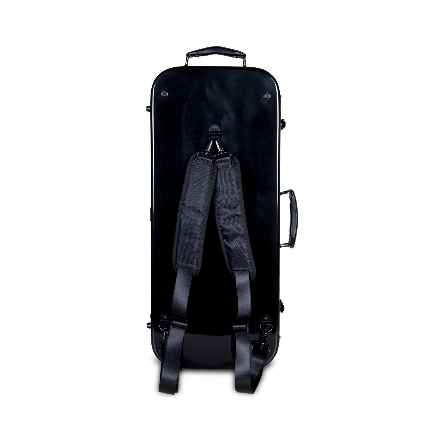 Crossrock CRF1000DVBK Fiberglass Double Violin Case