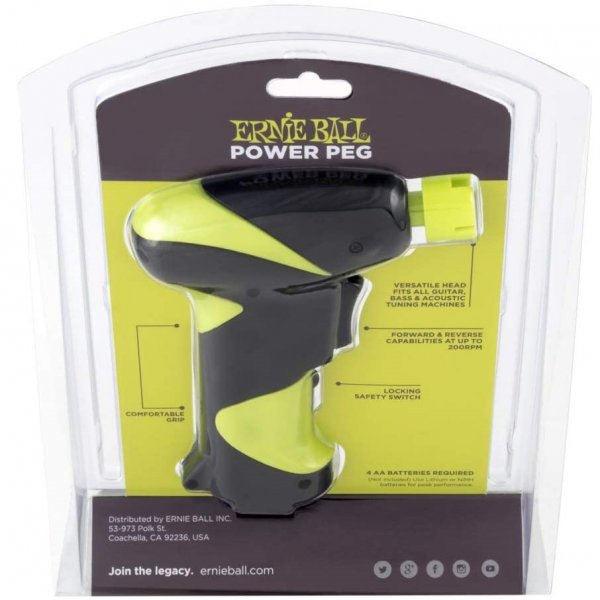 Ernie Ball Power Peg Pro Peg Winder