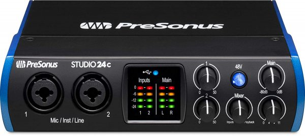 PreSonus Studio 24c USB-C Audio Interface