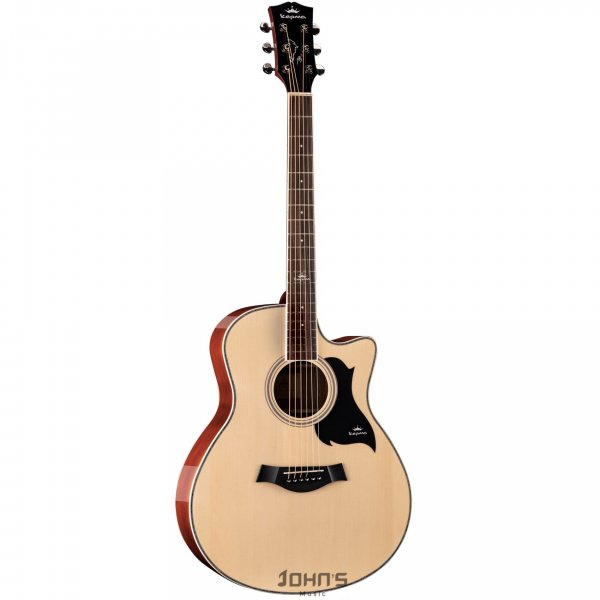 Kepma A1c Acoustic Guitar Natural beginner