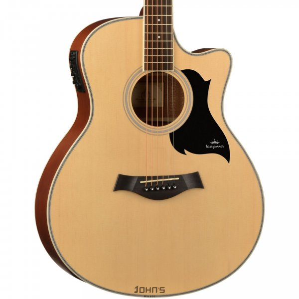 Kepma A1Ce Acoustic Guitar Natural Matt