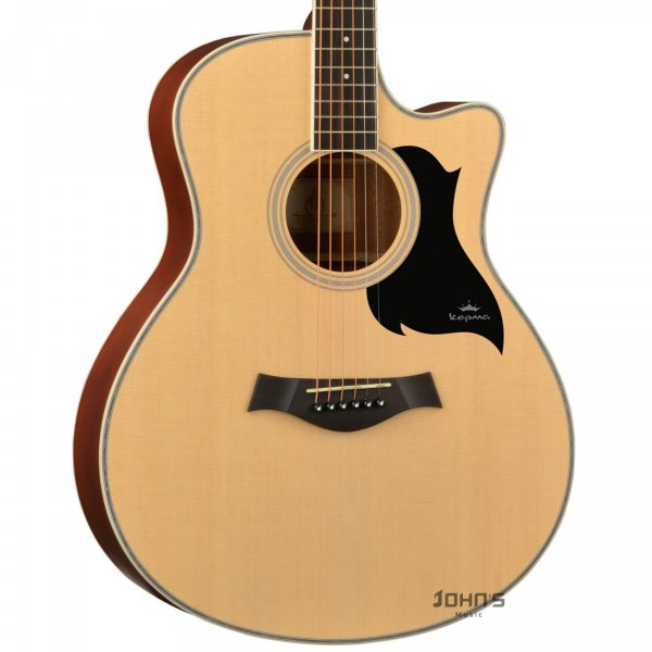 Kepma A1C Acoustic Guitar Natural Matt
