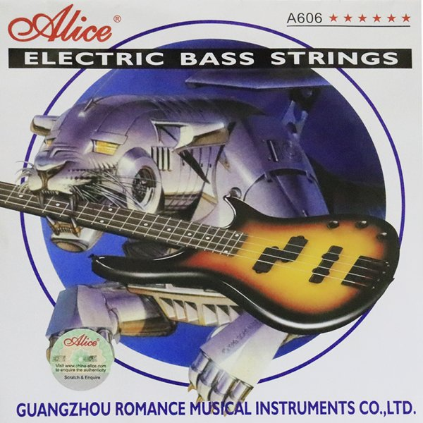Alice Electric Bass Guitar Strings – 5 strings