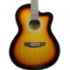 Havana AAG39 Acoustic Guitar with bag - Suburst