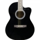 Havana AAG39 Acoustic Guitar with bag - Black