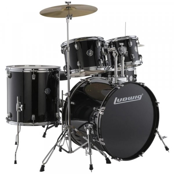 Ludwig Accent Drive Acoustic Drum Kit - 5 Piece