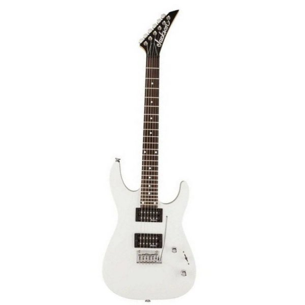 Jackson JS12 Dinky Electric Guitar - White