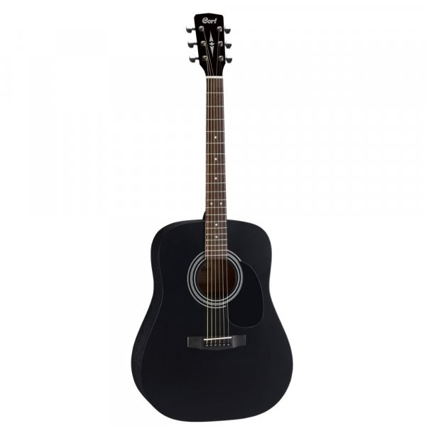 Cort AD810 Acoustic Guitar - Black Matt