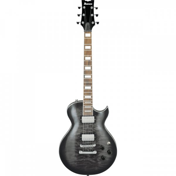 Ibanez ART Standard ART120QA Electric Guitar - Transparent Black Sunburst