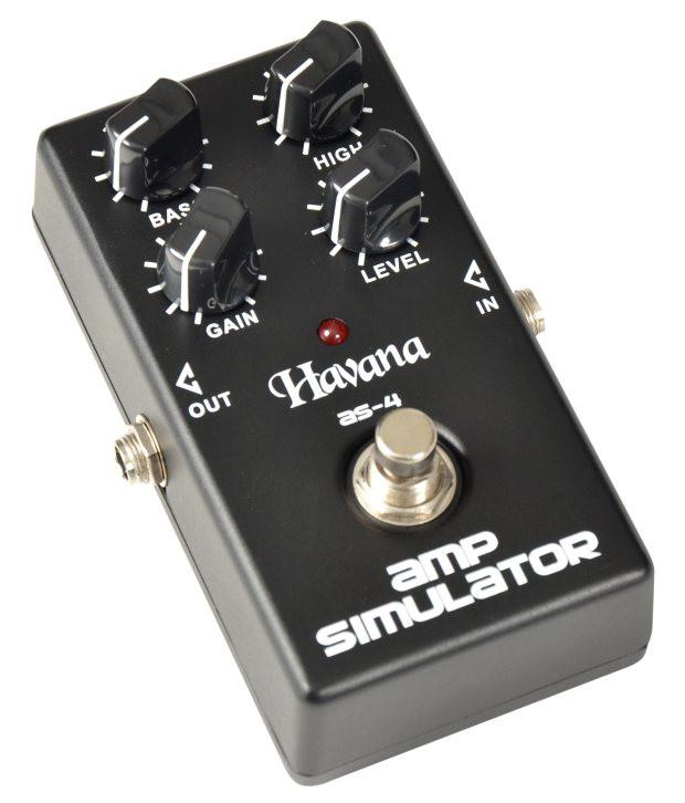 amp simulator pedal for guitars