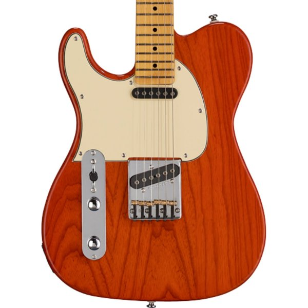 G&L Tribute ASAT Classic Left-Handed Electric Guitar Clear Orange