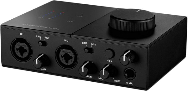 Native Instruments Komplete Audio1 Two-Channel Audio Interface