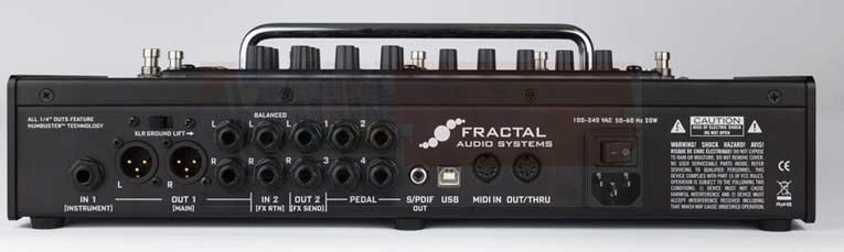 Fractal Audio AX8 Amp Modeler/Multi-FX Processor (Discontinued)