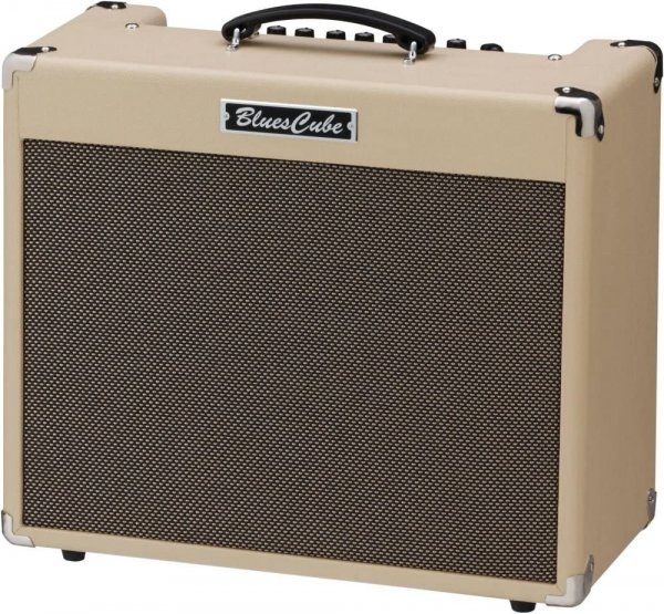 "Roland Blues Cube Stage 60-watt 1x12"" Combo Amp - Blonde"