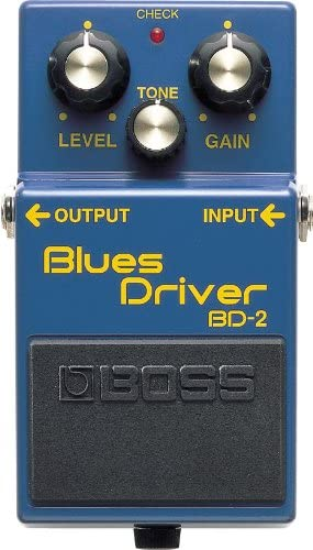 boss bd2 guitar blues pedal