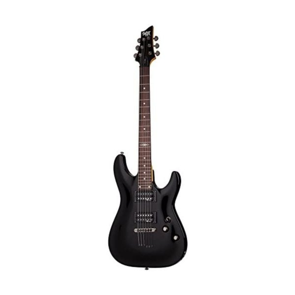 Schecter SGR C1 BK Electric Guitar Satin Black