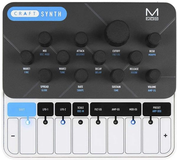 Modal Electronics CRAFTsynth 2.0 Portable Monophonic Wavetable Synthesizer