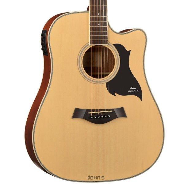 Kepma D1c Acoustic Guitar Natural Matt