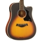 Kepma D1Ce Semi Acoustic Guitar- Sunburst Matt