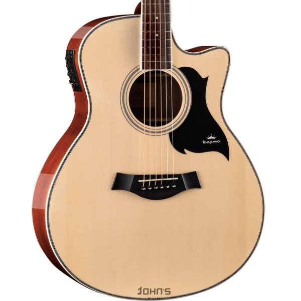 Kepma A1Ce Semi Acoustic Guitar - Natural