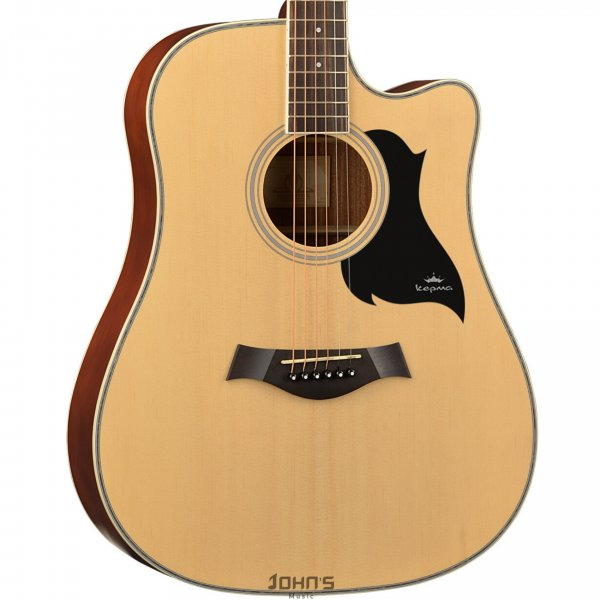 Kepma D1C Acoustic Guitar- Natural Matt