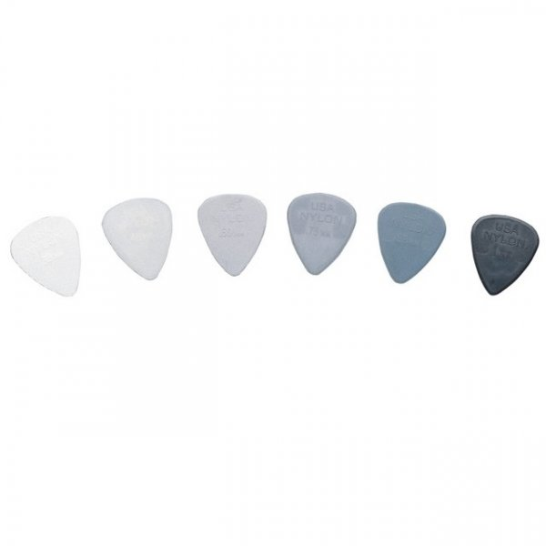 Dunlop 44P Standard Nylon Guitar Picks - Pack Of 6