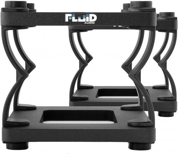 Fluid Audio DS5 Desktop Stand (Pair) - Black