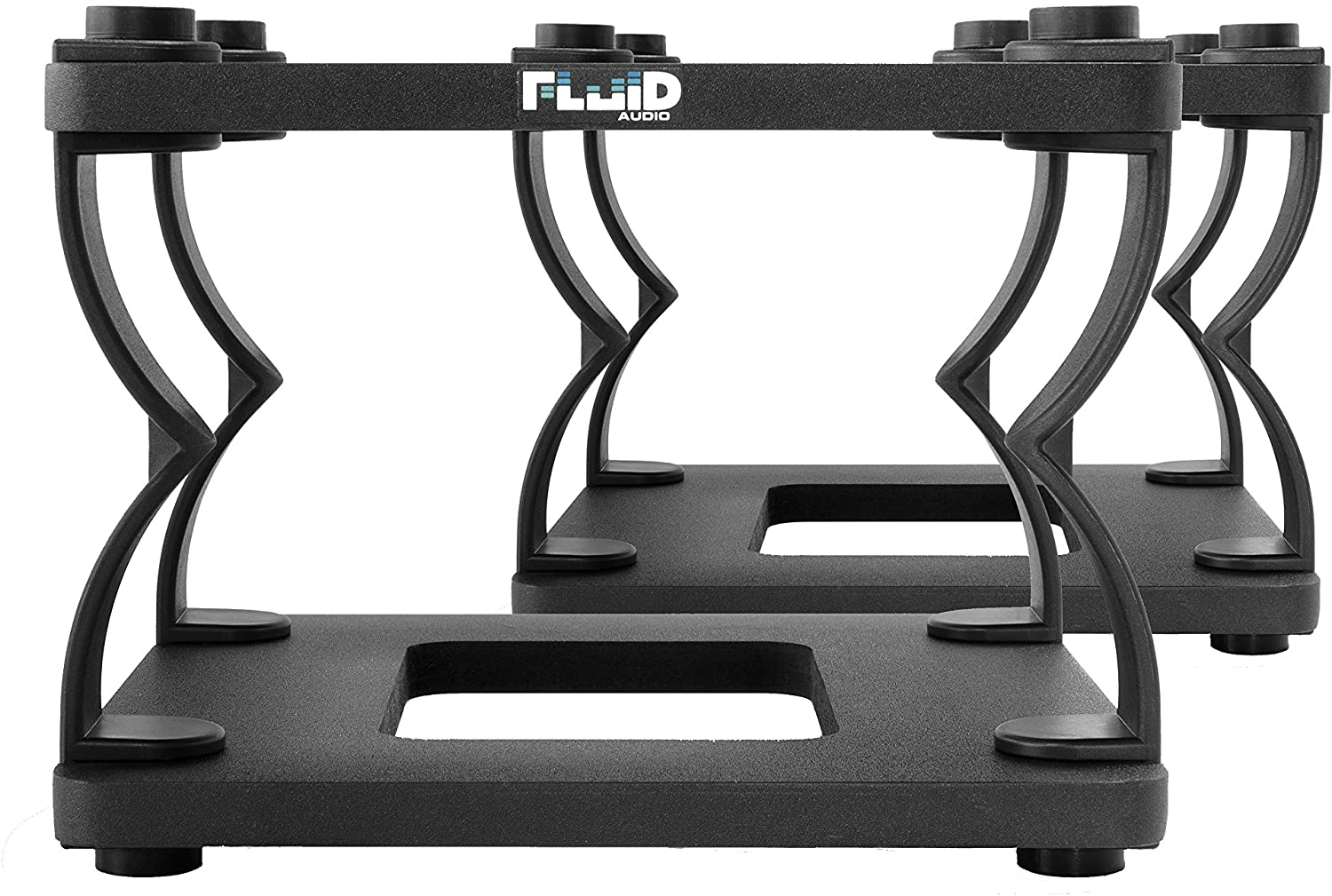Fluid Audio DS8 Desktop Monitor Stands (Pair) - Black