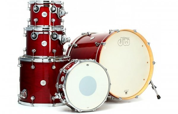 DW Design Series 5-piece Shell Pack - Cherry Stain
