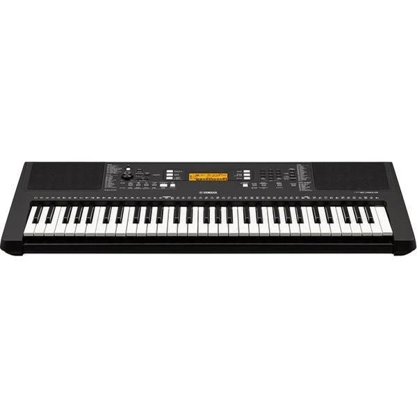 Yamaha PSR-E363 Touch Sensitive Portable Keyboard with Adapter