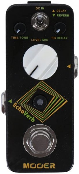 MOOER EchoVerb Digital Delay and Reverb Pedal