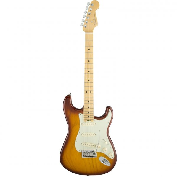 Fender American Elite Strat, Maple Fretboard in Tobacco Sunburst