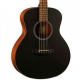 KEPMA ES36 Acoustic Guitar - Black Matt