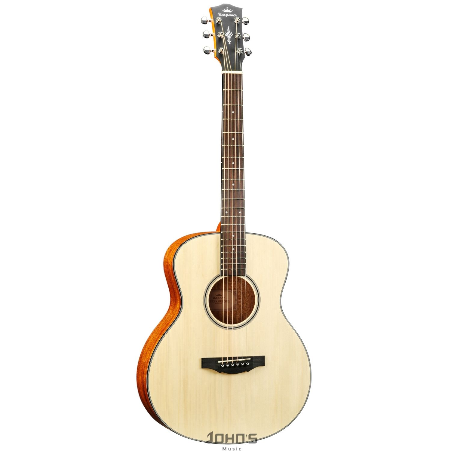 KEPMA ES36 Acoustic Guitar - Natural