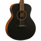 KEPMA ES36-E Semi-Acoustic Guitar - Black Matt