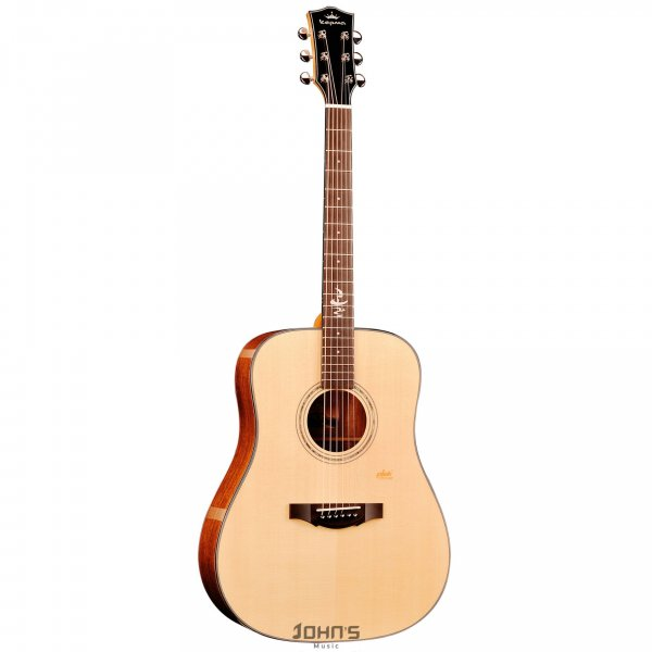 Kepma F1D Acoustic Guitar With Double Padded Bag