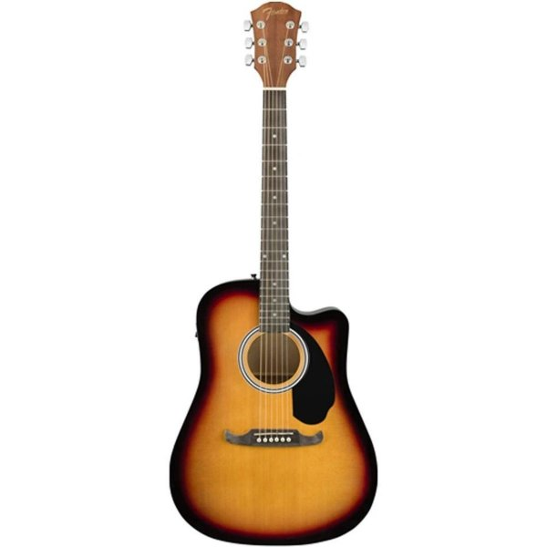 fender fa125ce electro acoustic guitar online in india