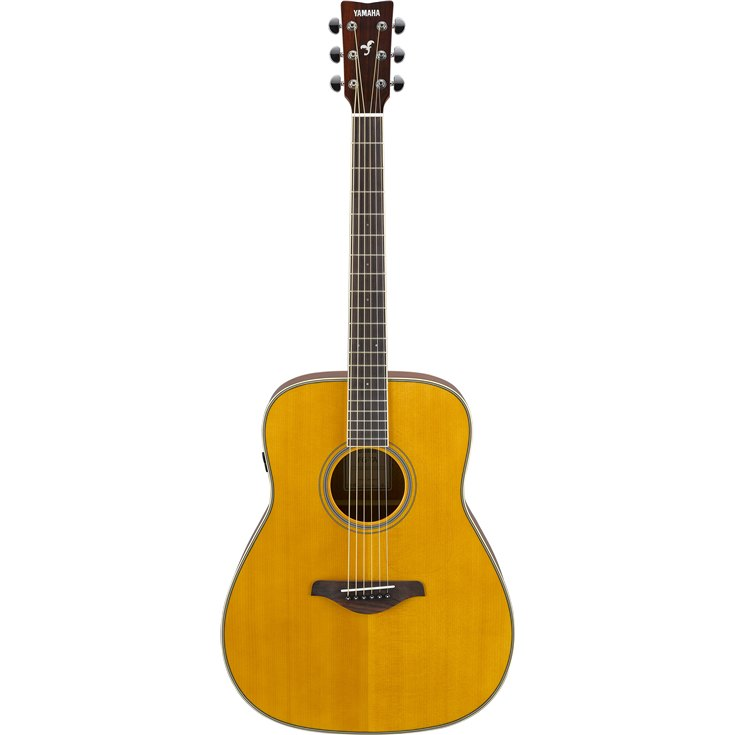Yamaha FG-TA TransAcoustic Dreadnought Acoustic-Electric Guitar