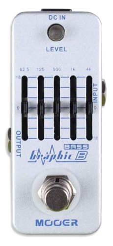 Mooer Graphic B Bass Equalizer Pedal