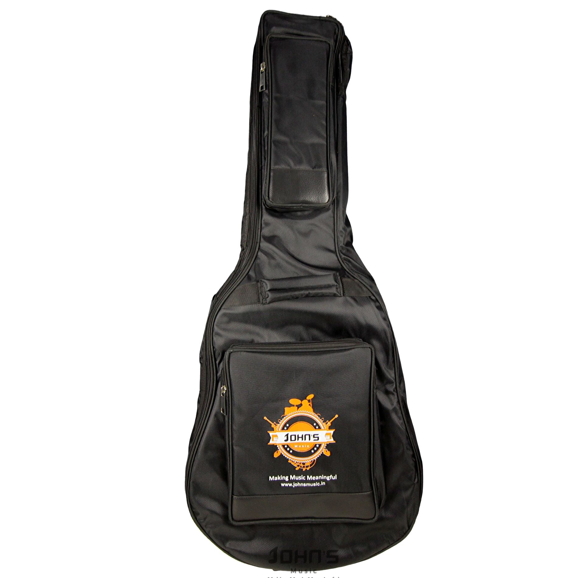 Heavy duty guitar bag for acoustic guitar