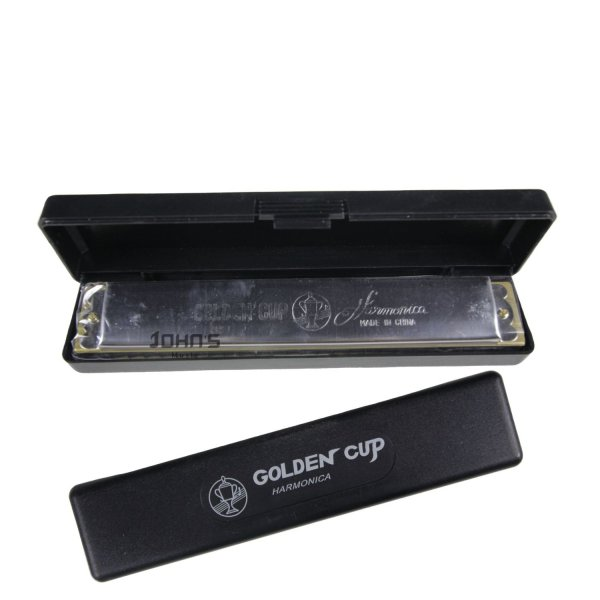 Golden Cup Key C 24-Hole Beginner Harmonica Mouth Organ
