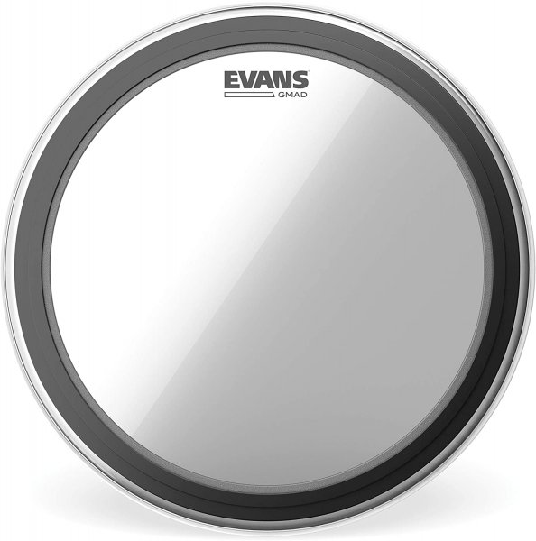 Evans GMAD Clear Bass Drum Head, 22 Inch