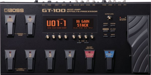 Boss GT-100 Multi-effects Guitar Processor