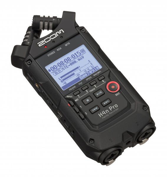 Zoom H4n Pro AB Handy Recorder