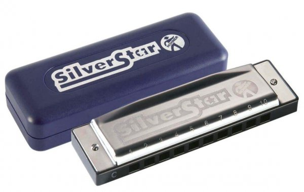 Hohner Silver Star M50401X C-Harmonica