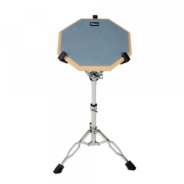 Havana C2 Drum Practice Pads with Stand - 12 inches